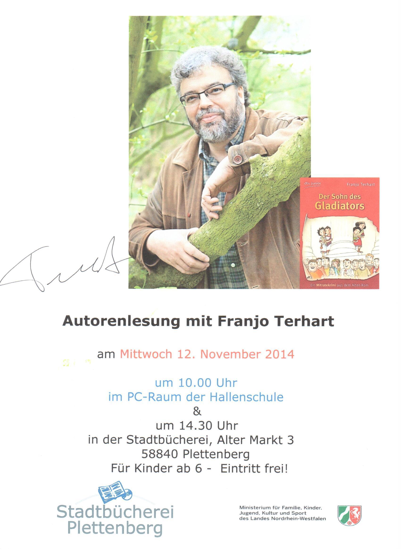 Lesung Terhard