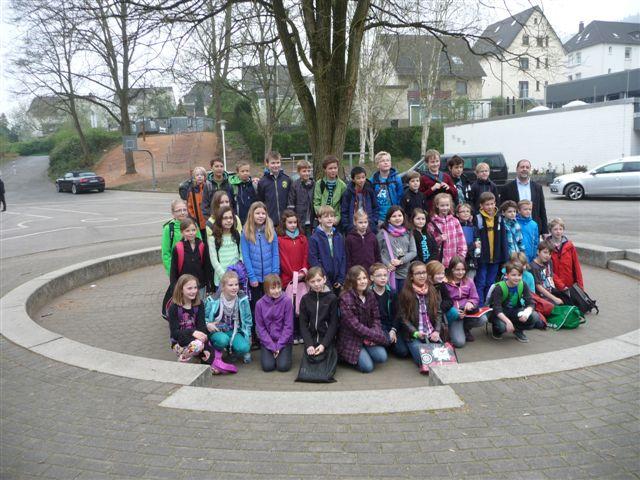 Teilnehmer der 3. Runde am 5. April 2014 in der Hallenschule